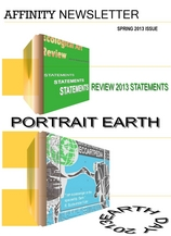 Ecological Art REVIEW, Statements, Ecological PORTRAIT EARTH Art, Earth Day 2013, ECOARTPEDIA